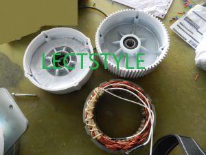 200W 12V24VCC Turbine éolienne à axe vertical pour la vente du générateur de lumière