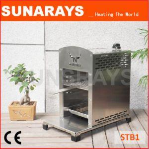 Fonctionnalité innovante dans un barbecue, un steak de chaleur brûleur descendante