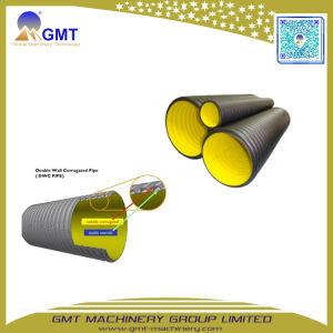 16-63mm PP PE PVC solo tubo de plástico ondulado de doble pared de la línea de equipos de la extrusora