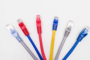 O FTP CAT6 RJ45 de cobre Cabo de rede de fibra óptica patch cord cabo LAN