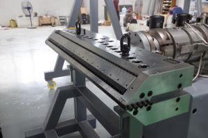 PVC石造りの彫刻のフロアーリングの放出機械