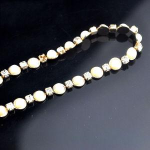 別の市場様式さまざまなカラー金の鎖のラインストーンを知りなさい