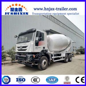 30t容積測定の移動式ミキサーのトラックの10m3トラックによって取付けられるミキサー