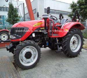 Tractor van het Landbouwbedrijf van het Wiel van de Verkoop Dq754 van Afrika de Hete 75HP 4WD Landbouw met het Certificaat van ISO- Ce Pvoc Coc