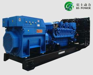 MTU-Reserveleistung 572kw/715kVA DieselGenset mit Stamford Drehstromgenerator