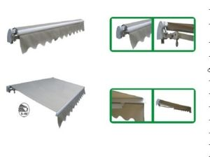 Сегменте панельного домостроения электрический полиэстер складной тент