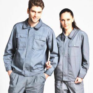 Vestuário industrial Poli algodão uniforme de trabalho de segurança