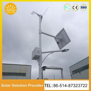 8W-150W LED de energía eólica y solar híbrida de la luz de la calle
