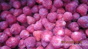 Fraises coupées en dés, surgelés IQF fraises coupées en dés