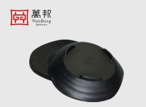 La mélamine de 8 pouces de la plaque plaque du ventilateur. Plaque de sushi. (140091)