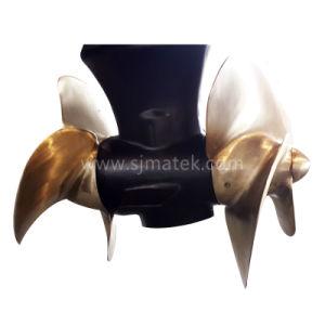 高い操縦性の海洋の青銅色の合金の双生児のプロペラ