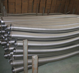 Ringförmiges gewölbtes Edelstahl-flexibles Metallrohr