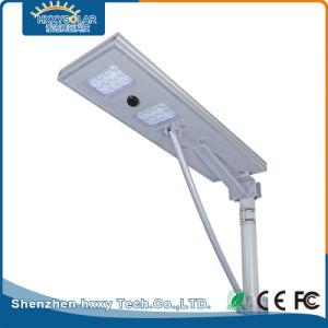 25W алюминиевых встроенный датчик движения все в одном светодиодный индикатор на улице солнечной энергии