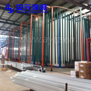 Steel와 Aluminium Sections를 위한 분말 Coating Line