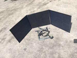 Painel Solar Dobrável ultra leves 120W para camping, caravana, Motorhome