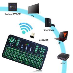 De androïde Doos van TV met Draadloos Toetsenbord Sunnzo L9 PRO met de Opslag Kodi 17.3 van Amlogic S905X 2GB Memory/16GB Vastgestelde Hoogste Doos