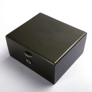 Acabado brillante joyero de madera de alta calidad Ver Box