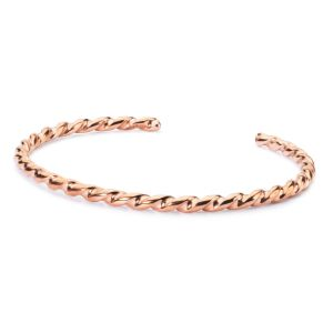 925銀製の固体ローズの金によってめっきされる腕輪の方法宝石類の宝石類