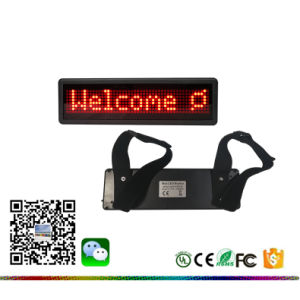 Tabellone a distanza del tassì dell'automobile del calcolatore 848 LED del USB del regolatore di IR 6 del livello LED di luminosità di mini dell'automobile serie registrabile del segno