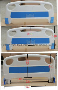 Hospital Medical tête et pied de lit d'administration