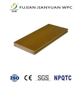 La Chine Fabricant Co-Extruded ASA-PVC WPC bois Plancher Composite Decking carte en plastique