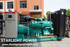 van de Diesel van de Generator van 220kw 275kVA Cummins de Elektrische Norm Reeks van de Generator ISO 3046