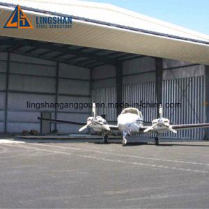 Precio de la construcción de acero puerta Hangar Acero Metales Acero hangar de aviones