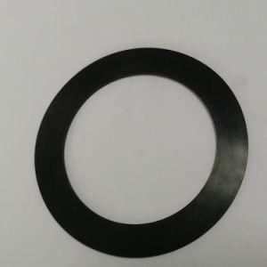 Métrique de la rondelle plate en caoutchouc épais noir