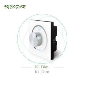 DC 12V/24V 4A*3CH 12 a 144 W de tensión constante que TIRA DE LEDS Dimmer RF REMOTE
