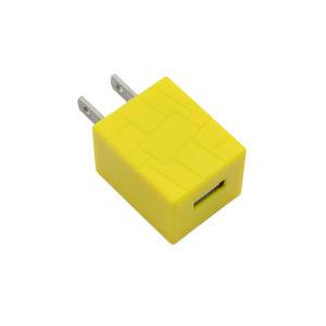 La certificación de Smartphone Universal colorido solo USB cargador de teléfono móvil
