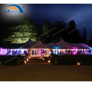doppia tenda Mixed della festa di compleanno dell'alto picco di 15m per una capienza delle 500 genti