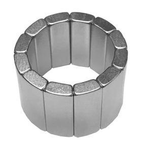 Производство неодимовый половины Arc магнита
