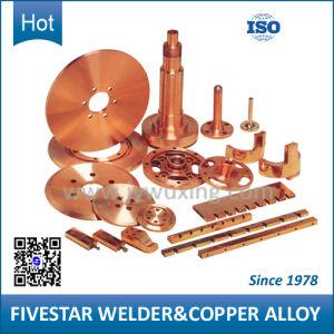 El berilio y cromo zirconio de soldadura de piezas de aleación de cobre