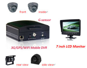 4CH HDD Mobile DVR Sicherheitssystem, CCTV DVR Solution