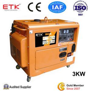 Pequeño Generador Diesel con CE (3kw).