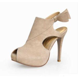 12cm de haut talon Mesdames sandales (l'Hcy02-230)