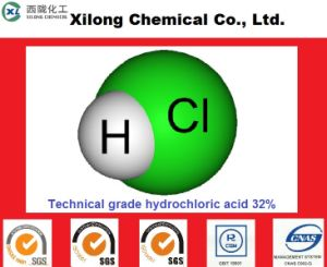 Industrieel Hydrochloric Zuur 31% 32% 33% 35% 36% van de Rang voor Mijnbouw/de Behandeling van het Water/Elektronisch
