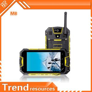 Android 4.2 Snopow M8 Walkie Talkie und Nfc 4.5 Inches Mtk6589 Waterproof Rugged Android Phone