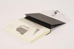 Top Qualtiy capa dura de impressão Pocket Oficial/portátil com íman