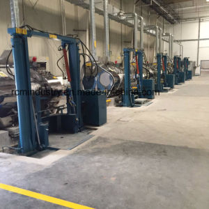 Rouleau Triple vertical hydraulique Mill, 3-Roll meuleuse
