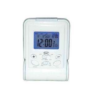 Reloj despertador digital LCD multifunción