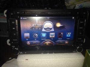 폭스바겐 Android 4.2 OS GPS Navigation DVD Stereo Player Head Unit System를 위한 7 인치 HD Car Screen
