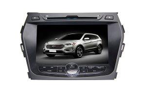 8 polegada no tablier aluguer de DVD para 2013 Hyundai IX45/Santa Fe com USB, SD DVD, iPod, a BT, FM, TV, GPS