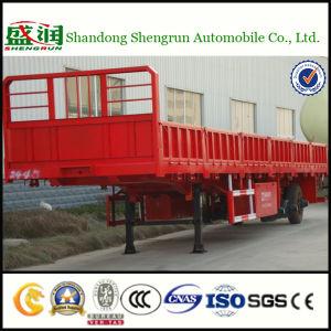 Shengrun três eixos de transporte de carga de cerca de 40 FT semi reboque
