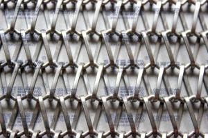 Проволочной сеткой транспортера (из нержавеющей стали)
