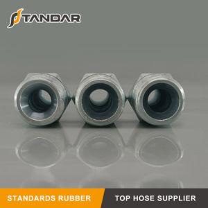 Montaggio di tubo flessibile ad alta pressione di Jic per il tubo flessibile di gomma idraulico