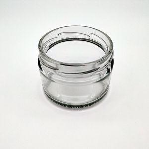 Vaso di vetro conserva di frutta del miele del vaso dell'alimento della vasta bocca