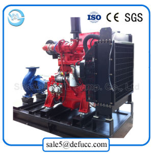 Extraire l'arrière du moteur Diesel Fin de la pompe horizontale du feu d'aspiration