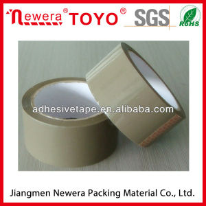 Tan BOPP Adhesive Tape for Carton Packaging