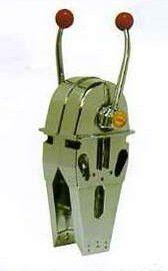 Parti marine della cassetta di controllo e della barca del Morse